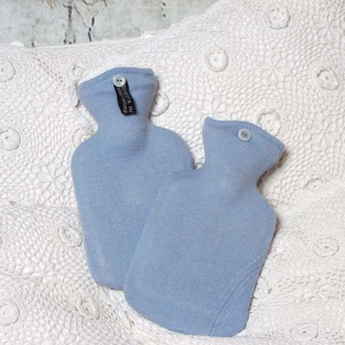Powder Blue Cashmere Hot Water Bottle Cover