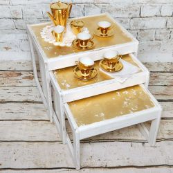 Gold Coffee Set